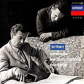 Britten: Serenade, Les Illuminations / Britten, Pears