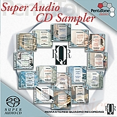 Super Audio CD Sampler - RQR