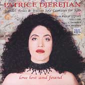 Love Lost and Found - Handel / Djerejian, Ledger, English CO