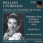Bellini: I Puritani / Picco, Callas, Di Stefano, et al