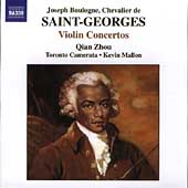 Saint-Georges: Violin Concertos Vol 2 / Qian Zhou, etc