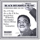 Various Artists: Black Religious Music: 1930-56