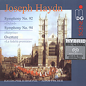 SCENE  Haydn: Symphony no 92 & 94 / Fischer, et al