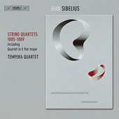 Sibelius: String Quartets 1885-89 / Tempera String Quartet