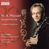 Mozart, Molter: Clarinet Concertos / Kari Kriikku, et al