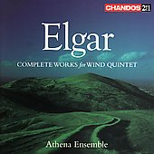 Elgar: Complete Works for Wind Quintet / Athena Ensemble