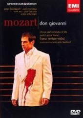 Mozart: Don Giovanni / Welser-Most/Orchestra of the Zurich Opera House [DVD]