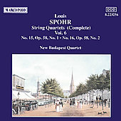 Spohr: String Quartets Vol. 6
