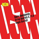 Shostakovich: String Quartets no 3, 7, 8 / Hagen Quartet
