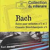 Bach J.s: Orchestral Suites Nos. 2 & 3, Brandenburg Concerto No.5