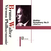 Mahler: Symphony no 9 / Bruno Walter, Vienna PO