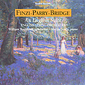 Finzi, Parry, Bridge - An English Suite / Boughton