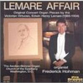Lemare Affair - Concert Pieces by Edwin H Lemare / Hohman
