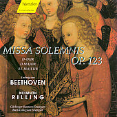 Beethoven: Missa Solemnis / Rilling, Coburn, Quivar, et al