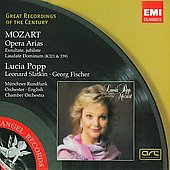 Mozart: Opera Arias / Popp, Slatkin, et al