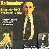Rachmaninov: Symphony no 3, Symphonic Dances / Kogan, Moscow State SO