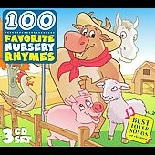 Various Artists: 100 Favorite Nursery Rhymes