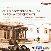 Stamitz: Cello Concertos, Sinfonie concertante / R&ograve;cz, et al