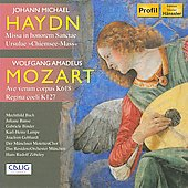 Johann Michael Haydn: Missa in honorem Sanctae Ursulae; Mozart: Ave verum corpus; Regina coeli
