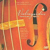 Violinguistics - American Voices / Scott Conklin, Alan Huckleberry
