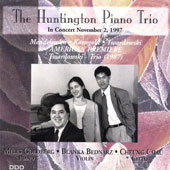 The Huntington Piano Trio in Concert