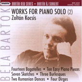 Bart&#243;k: Works for Piano Solo, Vol. 2