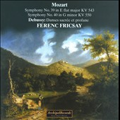 Mozart: Symphony No. 39; Symphony No. 40; Debussy: Danses Sacr&eacute;e et Profane