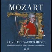 Mozart: Complete Sacred Music / Harnoncourt