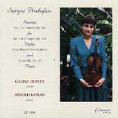 Prokofiev: Sonatas for Violin & Piano, etc / Galina Heifetz