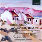 Allan Stephenson: Bass Concerto: Burlesque for double bass; Cello Concerto / Leon Bosch, double bass; Peter Martens, cello