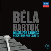 Bartok: Concerto for Orchestra; Music For Strings, Percussion & Celesta / Sir George Solti, Chicago Symphony Orchestra
