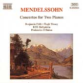 Mendelssohn: Concertos for Two Pianos / Frith, Tinney, et al