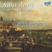 Danzi: Bassoon Quartets / Thompson, The Coull String Quartet