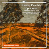 Andrzej Panufnik: Speranza - Symphonic Works, Vol. 6: Concertino for Timpani & Percussion; Sinfonia di Speranza