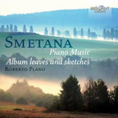 Smetana: Piano Music - Album Leaves and Sketches / Roberto Plano