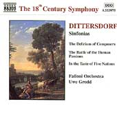 The 18th Century Symphony - Dittersdorf: Sinfonias / Grodd