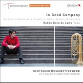 In Good Company: 20th Century Works for Tuba / Rubén Durá de Lamo, tuba; Ensemble Schwerpunkt, Yuval Wolfson, Trombone Unit Hannover et al.