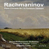 Rachmaninov: Piano Concerto No. 3; Fantaisie-Tableaux / Sequeira Costa, piano; Royal PO, Seaman