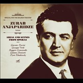 Arias and Scenes from Operas by Puccini, Verdi, Leoncavallo, Donizetti, Tchaikovsky / Zurab Anjaparidze, tenor