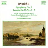 Dvorák: Symphony No 1, Legends / Stephen Gunzenhauser