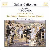 Guitar Collection - Regondi: Guitar Works Vol 1 / Holmquist