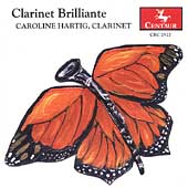 Clarinet Brilliante - Bach, Gershwin, etc / Hartig