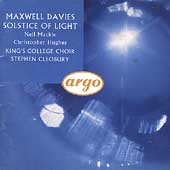 Maxwell Davies: Solstice of Light / Stephen Cleobury