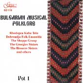 Bulgarian Musical Folklore Vol 1 / Buradjiev, Radanov, et al