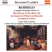 Spanish Classics - Rodrigo: Complete Orchestral Works Vol 6