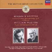 The British Music Collection -Britten: Serenade, etc; Walton