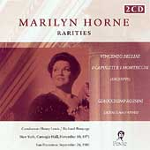 Marilyn Horne - Rarities - Rossini, Bellini, etc / Bonynge
