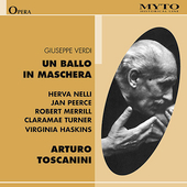 Historical - Verdi: Un ballo in maschera / Toscanini, Nelli