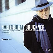Bruckner: Nine Symphonies, Helgoland / Barenboim, Berlin PO