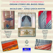 The History of Organ Music in the Low Country, 1600-1900 - Cabanilles, Sweelink, Scarlatti, Bach, Rheinberger, Mendelssohn / Nicolo Sar, Jorge Garcia Martin, organists
